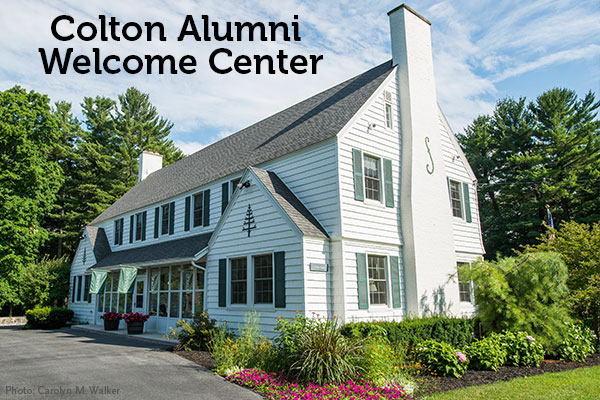 Colton House Alumni Welcome Center